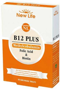 New Life B12 Methyl Plus 60 Tablet