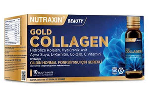 Nutraxin Gold Collagen 10 Beauty Shots-ÜCRETSİZ KARGO