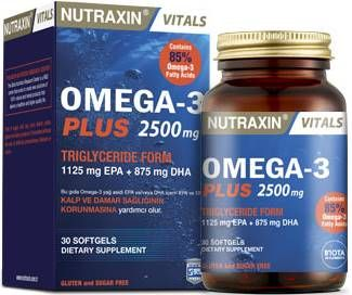 Nutraxin Omega-3 Plus 2500 mg