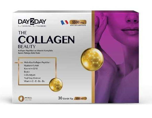 Day 2 Day (Day2day) The Collagen Beauty 30 Tüp x 40 ml- Sıvı Kolajen