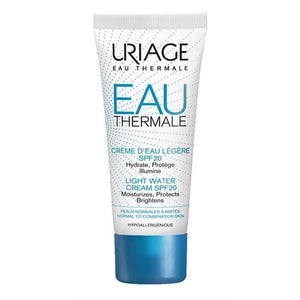 Uriage Eau Thermale Light Water Cream SPF20 40ml*Hafif Su Bazlı Nemlendirici Krem SPF20