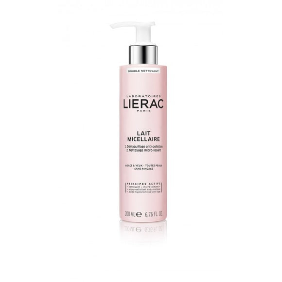 Lierac Double Cleansing Micellar Milk Face & Eyes 200ml