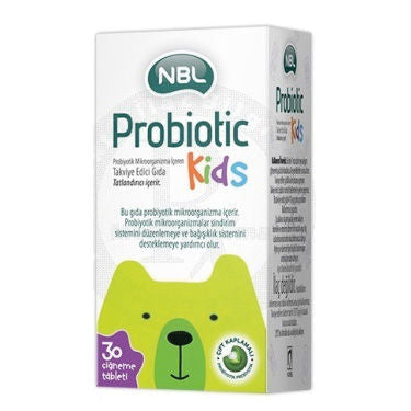 NBL Probiotic Kids 30 Tablet