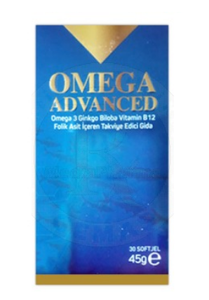 Omega Advanced 30 Kapsül