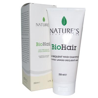 Natures BioHair Aha Frequent Wash Shampoo 200ml