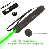 Military Green Adjustable 532nm Power light high Laser Pen Pointer 10000mw New