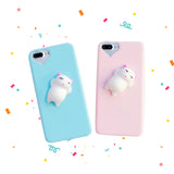 3D Soft TPU Funny Phone Cases for iPhone