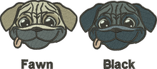 Pug face colours