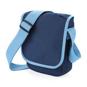 Navy/sky walkies bag