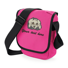 Cavachon walkies bag fuchsia