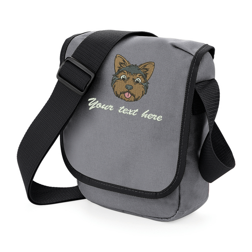 Personalised Yorkshire Terrier walkies bag