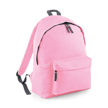 pink/grey back pack