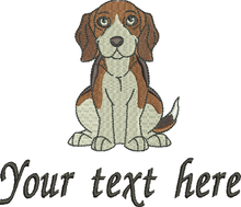 Beagle your text here