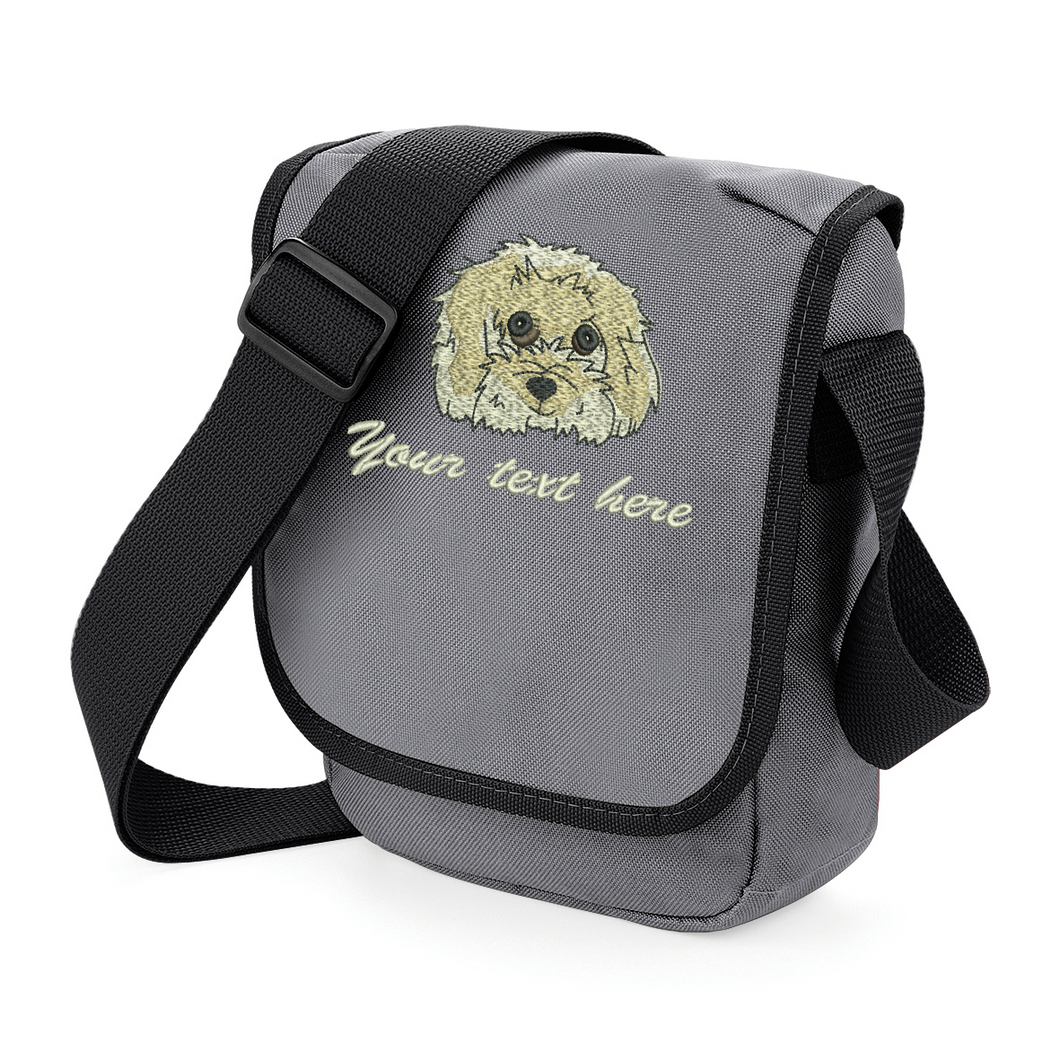 Cavachon walkies bag grey