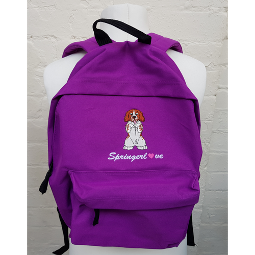 Springer Spaniel Backpack