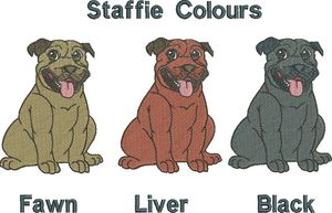 Staffie colours