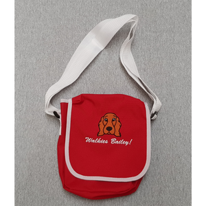 Walkies bag with embroidered Cocker Spaniel