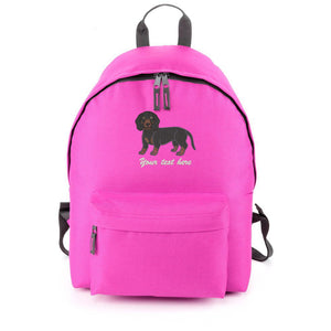 Dachshund Backpack