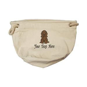Personalise your cocker spaniel toy bag