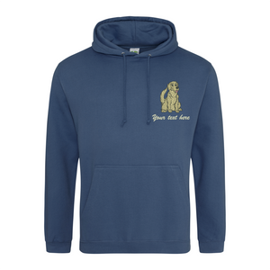 Personalised Golden Retriever Hoodie
