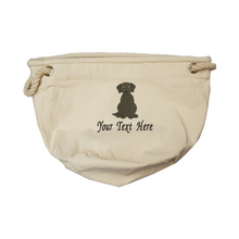 Labrador personalised toy bag