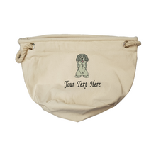 Personalise your springer spaniel toy bag