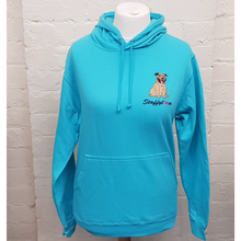 Embroidered Staffy hoodie