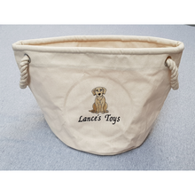 labrador toy bag lance