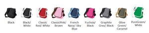 Walkies bag colours