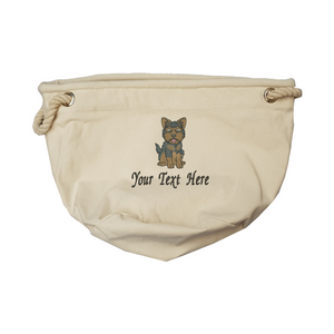 Personalise your yorkie toy bag