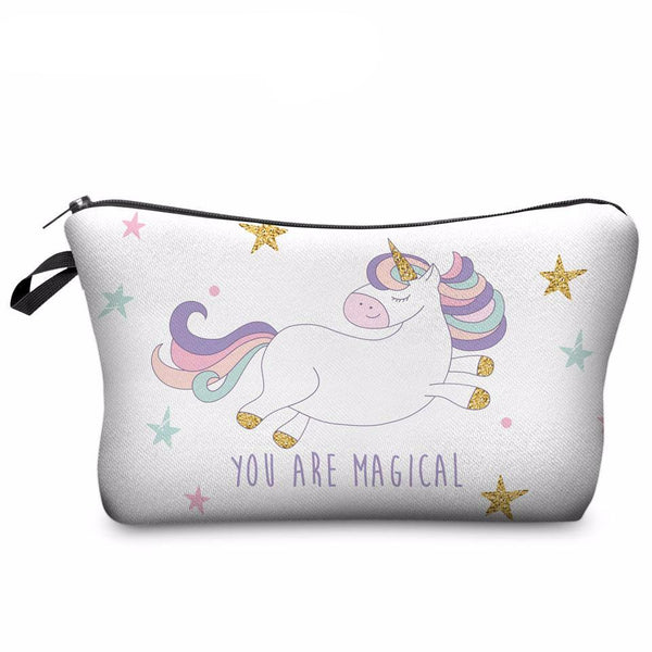 Magical Unicorn Make Up Pouch