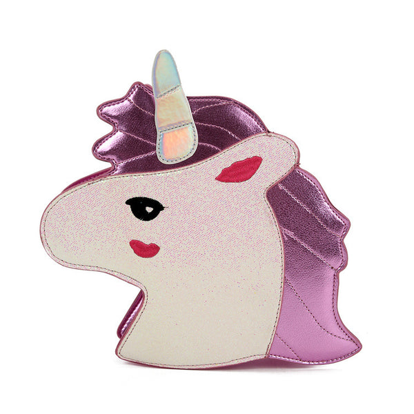 Unicorn Shaped Shoulder Bag