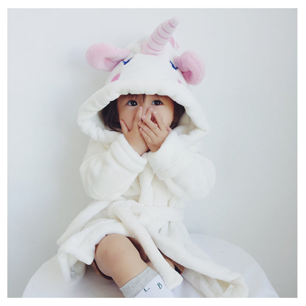 Unicorn Bathrobe for Children