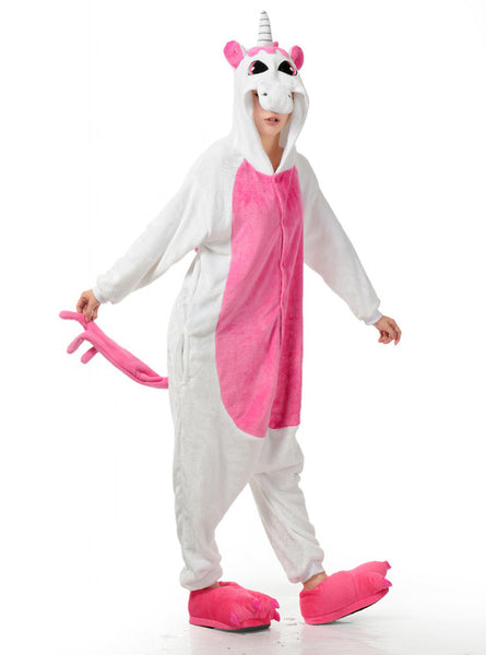 Adult Ladies Pink Unicorn Onesie