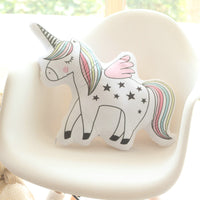 Illustrated Unicorn Pillow