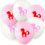 Unicorn Party Supplies Latex Balloons 10 pieces