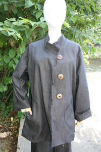 OE1-05 Big Sur Shirt- Denim