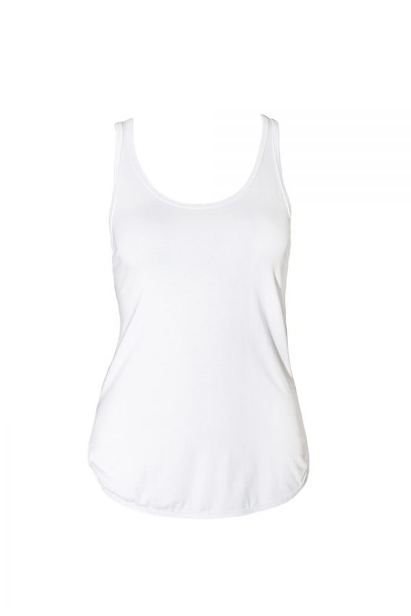 NM1-BT-ND-WH White Bamboo Tank