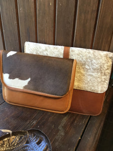 TB1-004 Leather clutch/iPad case