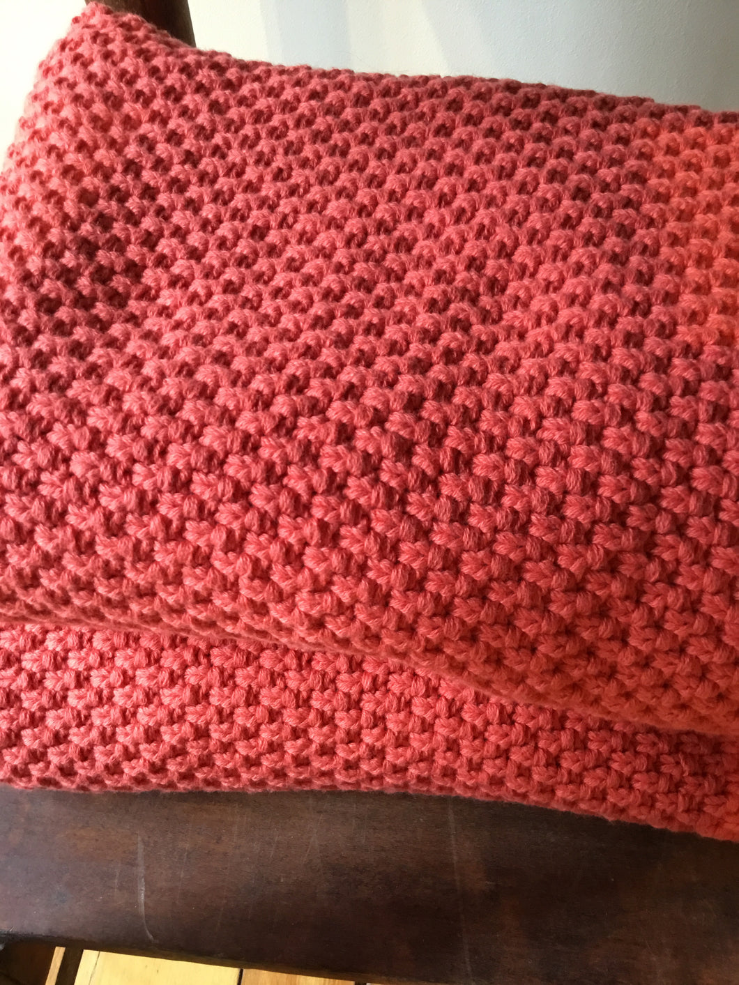 PC1-017 Coral Knit Blanket
