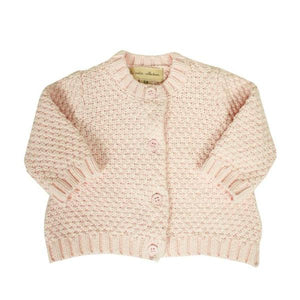 PC1-007 pink knit cardigan