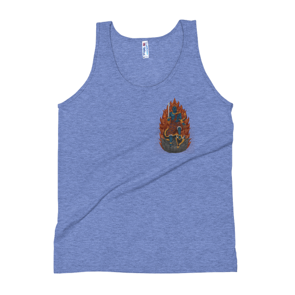 Obstacle Subduing Fudo Myo-o Tri-Blend Tank Top