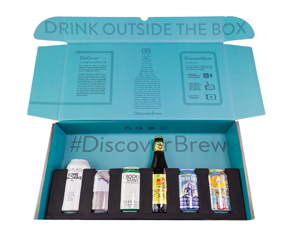 DiscoverBrew Box (12 Months)