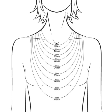 TimJeweler necklace length