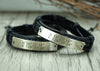 Couples Bracelet, His and Her Bracelet, Custom Coordinates Bracelets
