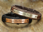 You Are My Person Bracelets- set of two, Matching Couple Bracelets