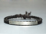 Personalized Morse Code Bracelet, Hidden Message Bracelet