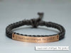 Memorial Signature Bracelet, Actual Handwriting Bracelet, Skinny Bar