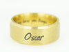 Pet Memorial Ring, Gold Ring, Inside Engraved Ring Band, Pet Name Ring, Memorial Gift, Pet loss Gift
