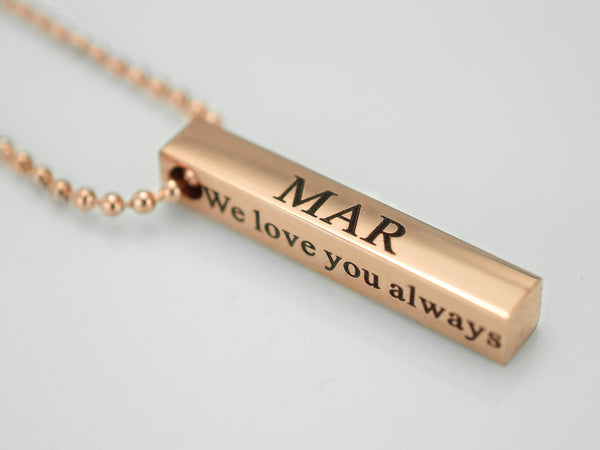 c7b5417ee6d7e Personalized Coordinates Necklace – timjeweler